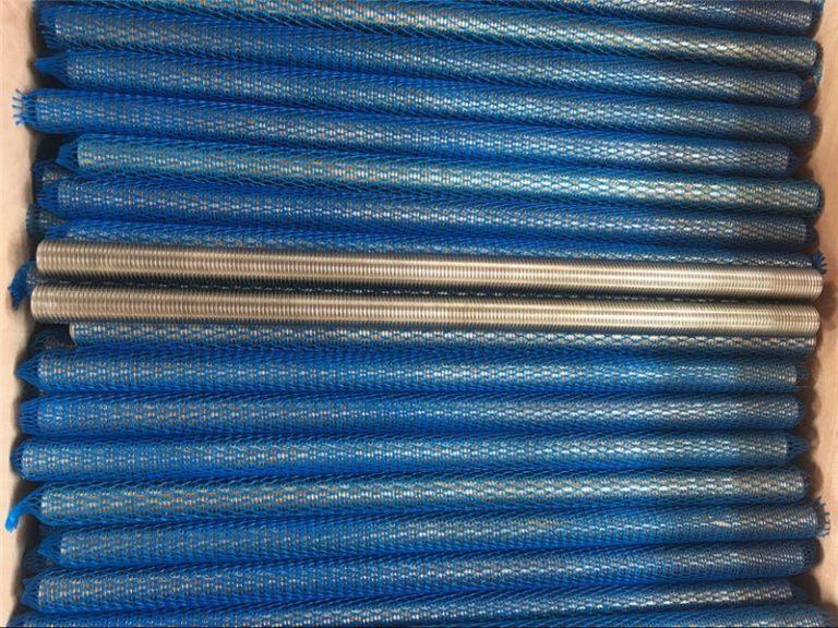 నికెల్ మిశ్రమం inconel601 / 2.4851 ట్రాపెజోయిడల్ థ్రెడ్ రాడ్ కొత్త వస్తువులు